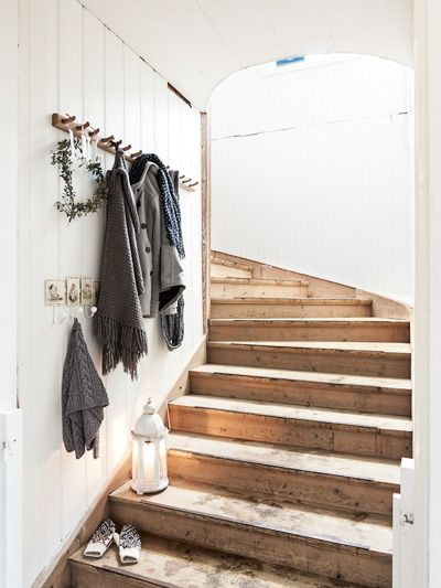 decorated stairs | Carina Olander