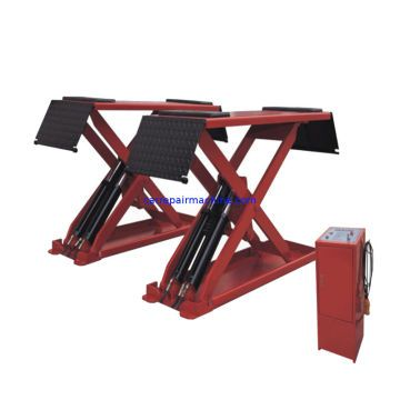 Low Profile Hydraulic Auto Lift , Home Garage In-ground Mid Rise Scissor Lift