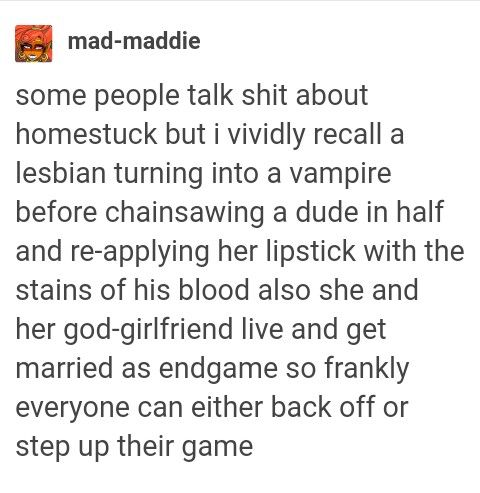Best description for Kanaya I've ever read