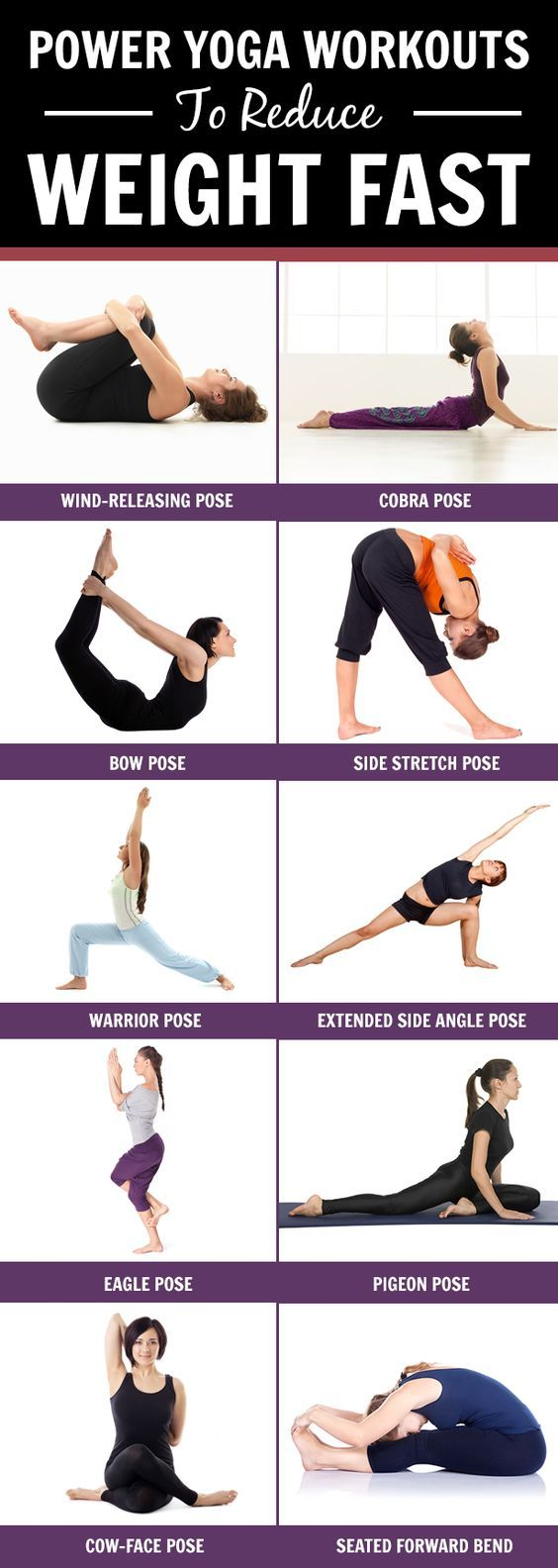 Yoga is of many kinds & one such power yoga is considered to be great ways in losing weight. Learn the poses of power yoga for weight loss…