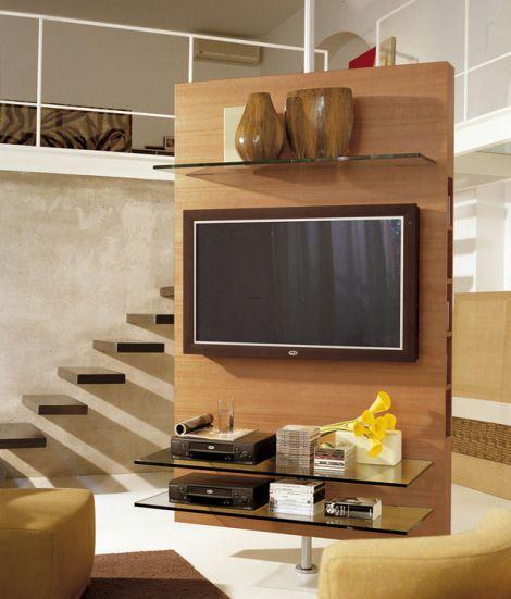 designer tv stands for flat screens by New Inspiration Home Design, via Flickr