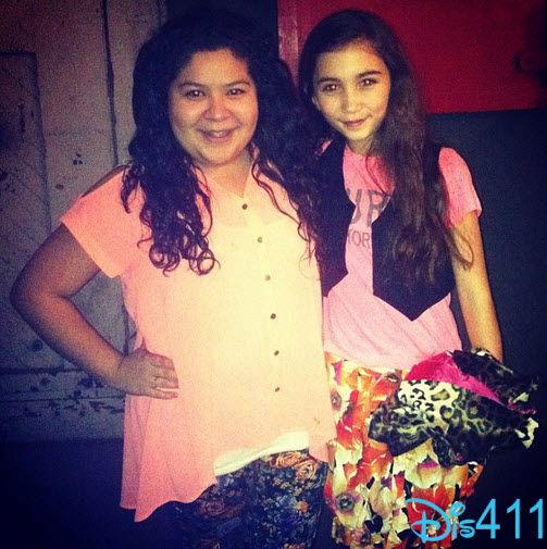 Raini Rodriguez and Rowan Blanchard