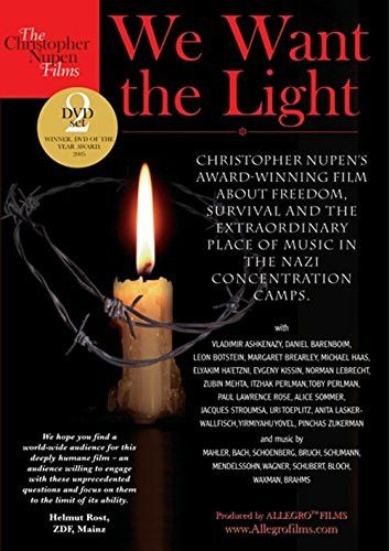 We Want The Light - Christopher Nupen's Holocaust Film DVD