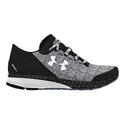 Under Armour Women's UA W Charged Bandit 2 Black and White Running Shoes -  3.5 UK