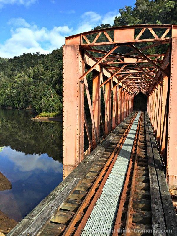 West Coast Wilderness Railway - Bridge over the River
