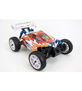 RC AUTO 94185 HSP BUGGY TROIAN 1/16 IN ROT