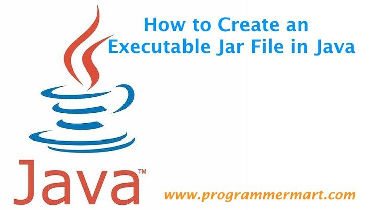 how to create jar file in java program