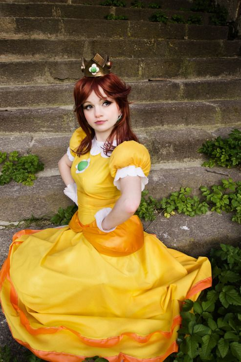 Princess Daisy - Nyu(Ichigo Nyu) Princess Daisy Cosplay Photo - Cure WorldCosplay