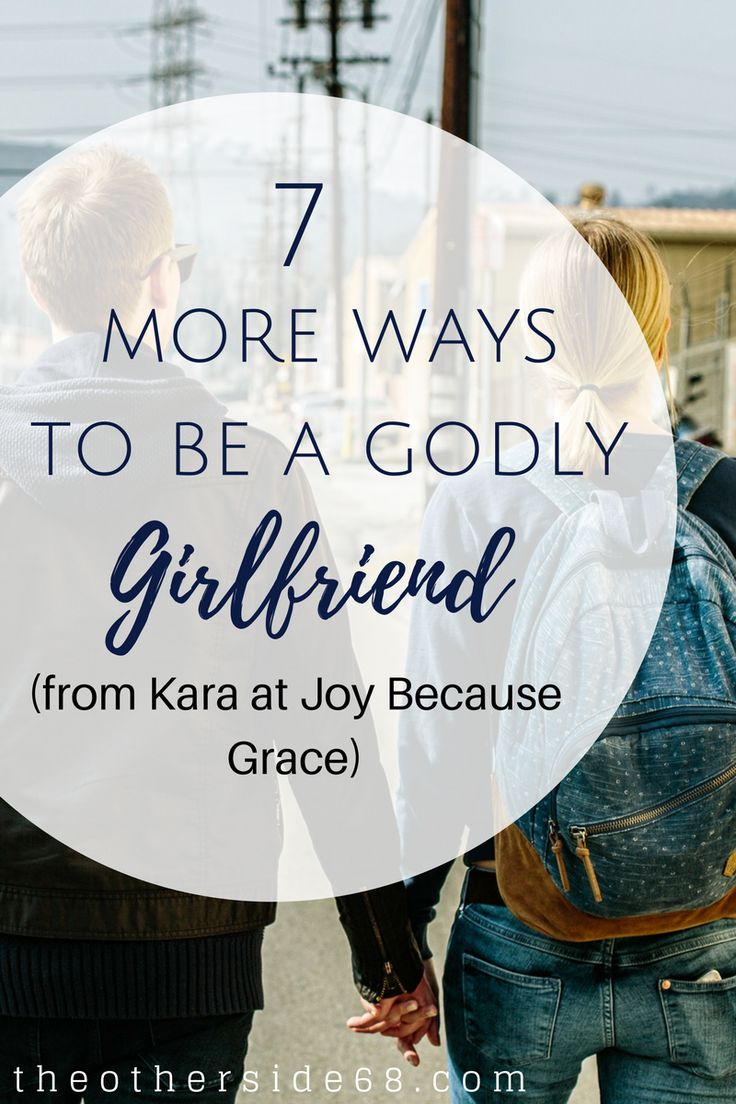 Happy Thursday, friends! Last week, Kara from Joy Because Grace shared 7 ways to be a godly girlfriend–taken from 1 Corinthians 13. Today, she has 7 more biblical tips to help you in your relationship. Grab your Bible and flip to 1 Corinthians 13:5b-7, and dig in to this post.