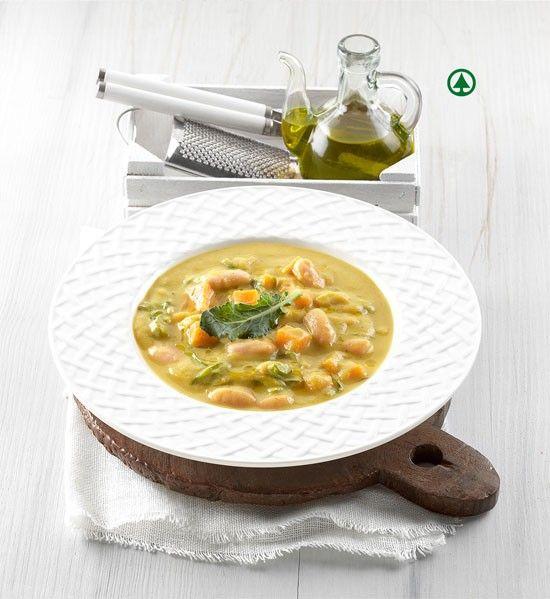 La ricetta della riboliita toscana viene riproposta come ricco piatto unico con broccoli, fagioli e zenzero.