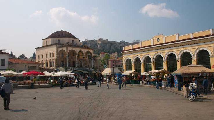 Flea market in Athens, Monastiraki | Smile Greek