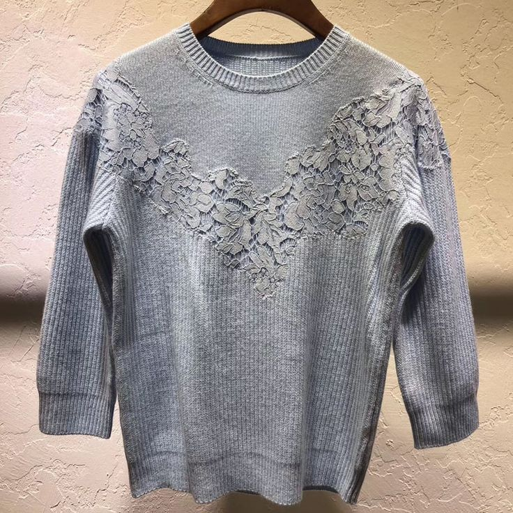 wool sweater pullover winter 2017 knitted sweater long sleeve lace pullovers sweater