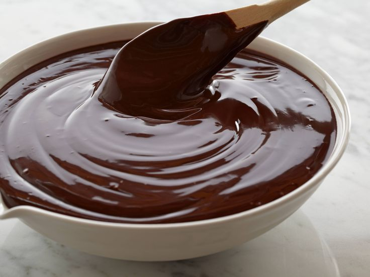Ganache Frosting recipe from Alton Brown via Food Network