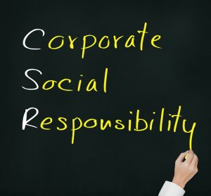 Corporate social responsibility, Corporate social responsibility, of what companies owe the outside.