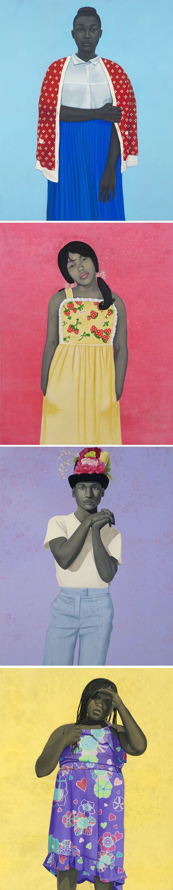 Paintings by #AmySherald