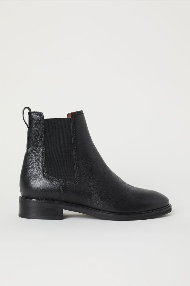 Leather Chelsea Boots | Black chelsea boots, Leather chelsea