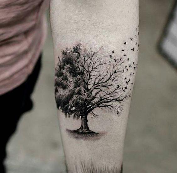25+ Best Ideas About Tree Tattoos On Pinterest