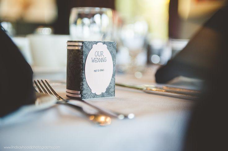 Literary wedding favours
