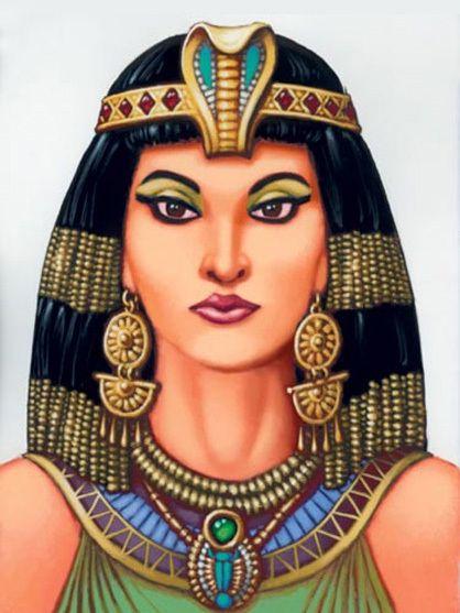 painting egypt portrait - Pesquisa Google
