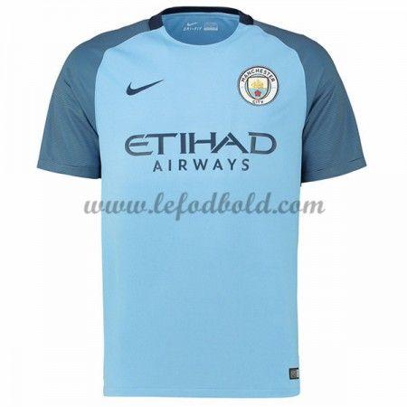 Billige Fodboldtrøjer Manchester City 2016-17 Kortærmet Hjemmebanetrøje