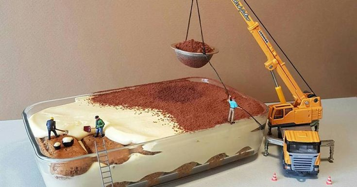 Italian Pastry Chef Creates Miniature Worlds With Desserts -    Matteo Stucchi is a pastry chef from Monza, Italy, who builds playful tasty-looking worlds using only desserts and and fills them with little figur...
