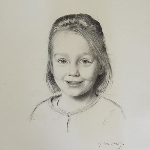 Charcoal drawing by Henrietta Abel Smith