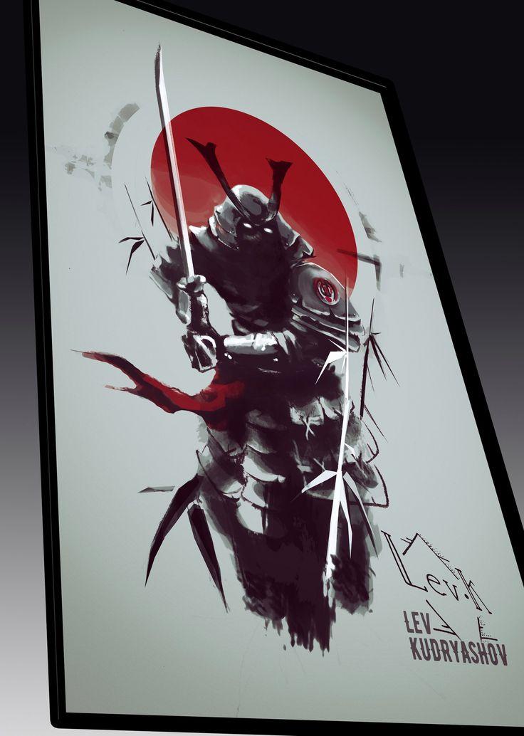 Tattoo sketch / Тату эскизы Tattoo ideas /  Тату идеи  Япония Арт Самурай Art  #LevK #Art #tattoo #japan #samurai #neotraditional #sketch #ninja #эскиз #самурай #ниндзя #тату #SPB