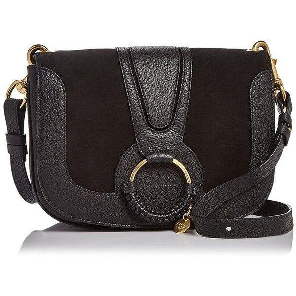 See by Chloe Hana Suede Shoulder Bag ($500) ❤ liked on Polyvore featuring bags, handbags, shoulder bags, vintage shoulder bag, suede purse, shoulder bag purse, suede handbags and see by chloe purse