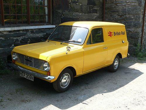 British Rail Bedford HA110 Van