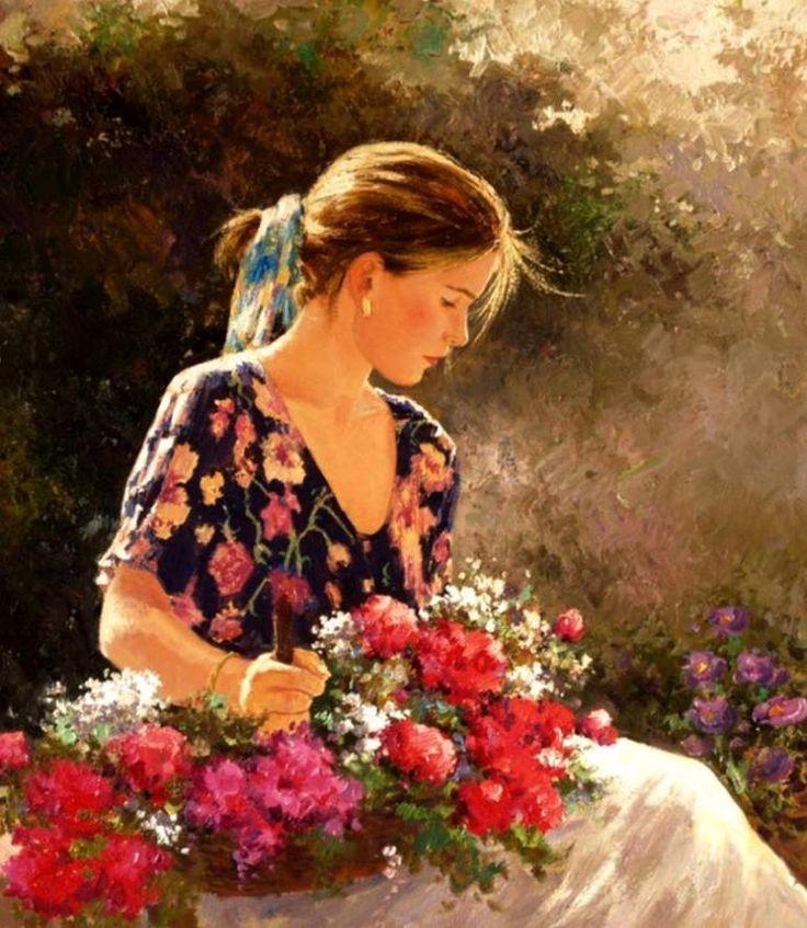 "Saatchi Art Artist Roman Frances; Painting, ""CARI"" #art"