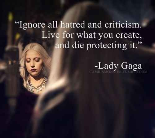 The Most Inspirational Thing Lady Gaga Has Ever Said.