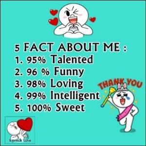 5 Fact About Me