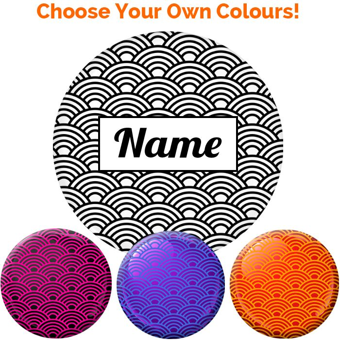 Name Badge - Create Your Own #023 - 75mm
