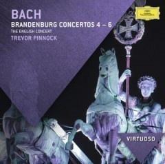 Bach: Brandenburg Concertos Nos.4 - 6 - The English Concert, Trevor Pinnock