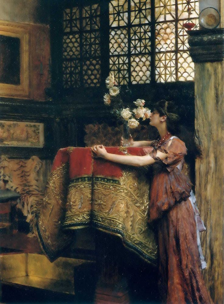 In My Studio (1893), by Lawrence Alma-Tadema