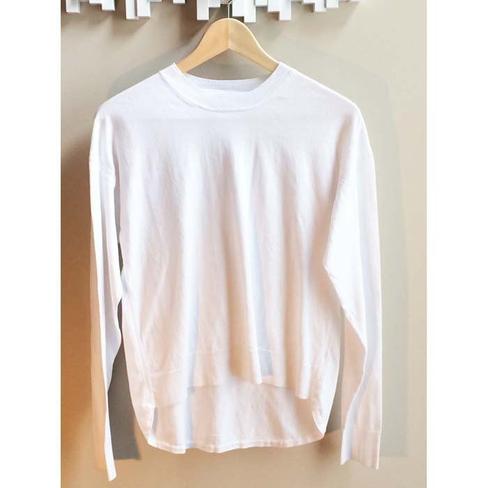 T By Alexander Wang Lightweight Cotton Sweater