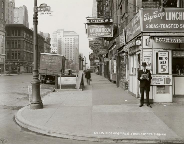 Bild: New York City Municipal Archives, Borough President Manhattan/AP    25. April 2012, 08:19