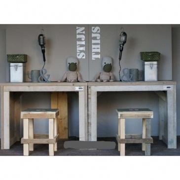 houten bureautjes