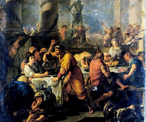 Saturnalia... Why Christmas is held on 25th December...