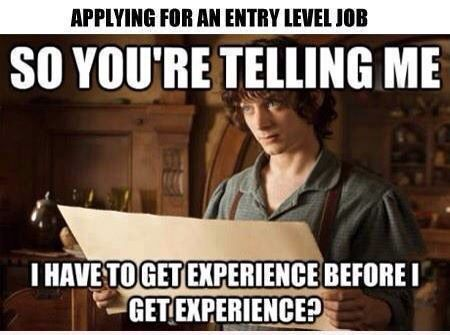 how to get job experience after college