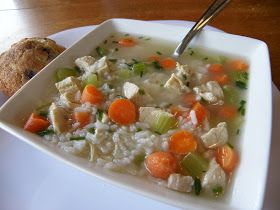 Taste Every Season: Quick Chicken and Rice Soup