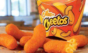Mac n Cheetos from Burger King.