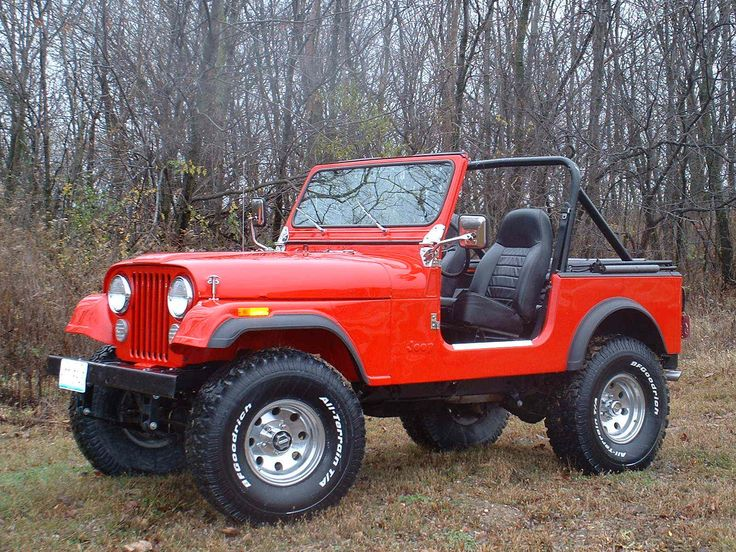 Jeep CJ7 1978 I wanted one of these when I was a teenager. Mom said those are too dangerous and can roll over!