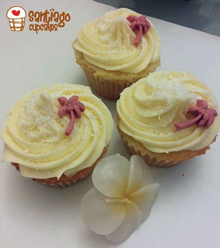 Cupcakes de piña colada!!!