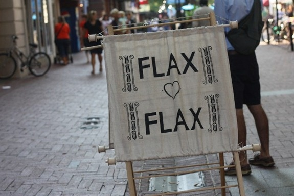 FLAX 'heart' FLAX    love this banner and would love it for my kitchen to hang on the wall  - I lost 26 pounds from here EZLoss DOT com #products #fitness