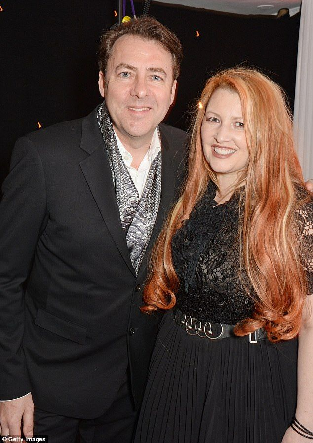 Brave: Jane Goldman, 47, who married presenter Jonathan Ross aged 18, has revealed she was sexually assaulted by a rock musician at the age of 16
