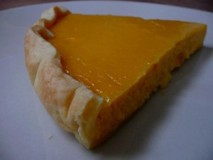 Halloweenský tekvicový koláč :-)