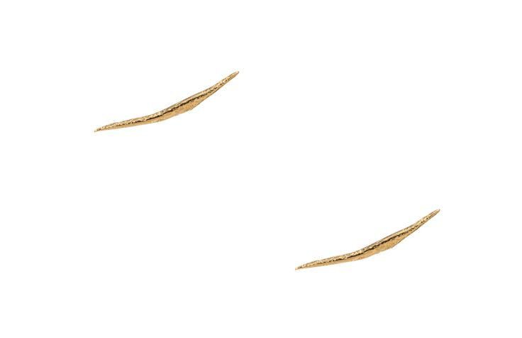 Stick Wisp Earring #earrings available as single for cartilage piercing... WANT