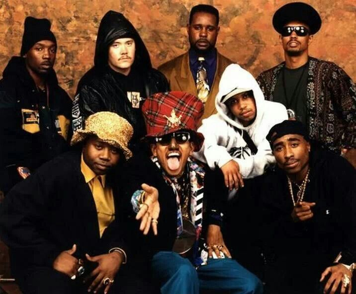 Tupac Shakur and Digital Underground