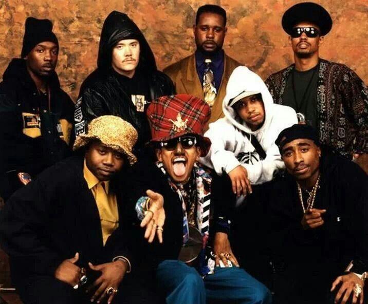 Tupac Shakur and Digital Underground